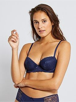 Push-up - Reggiseno push up pizzo e microfibra