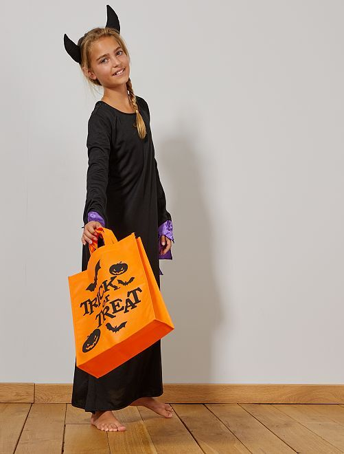 Sacchetto per dolcetti per Halloween                                         arancione