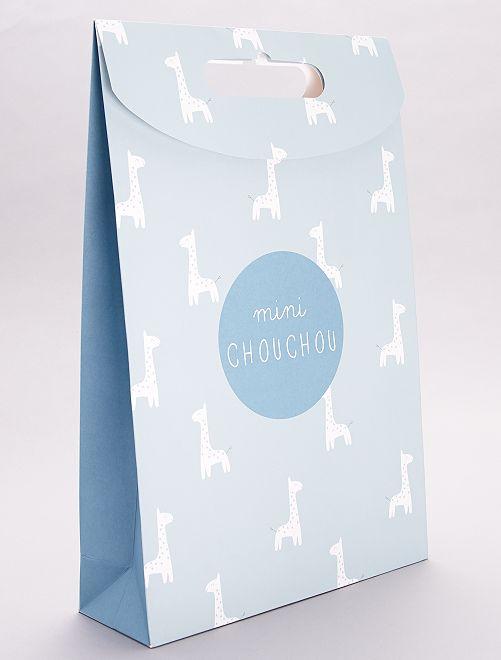 Sacchetto regalo in carta riciclata                                                     VERDE