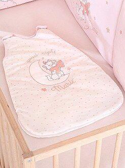 Bambina 0-36 mesi Sacco nanna caldo ciniglia 'Gli Aristogatti'
