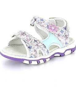 Scarpe, pantofole - Sandaletti fiori a strappo