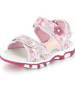 Scarpe bebé - Sandaletti fiori a strappo