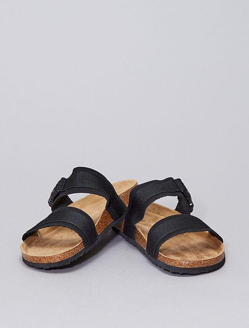 Sandali a 2 fasce                                         nero