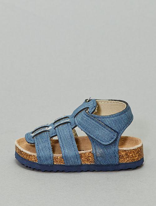 Sandali a strappo                             blu
