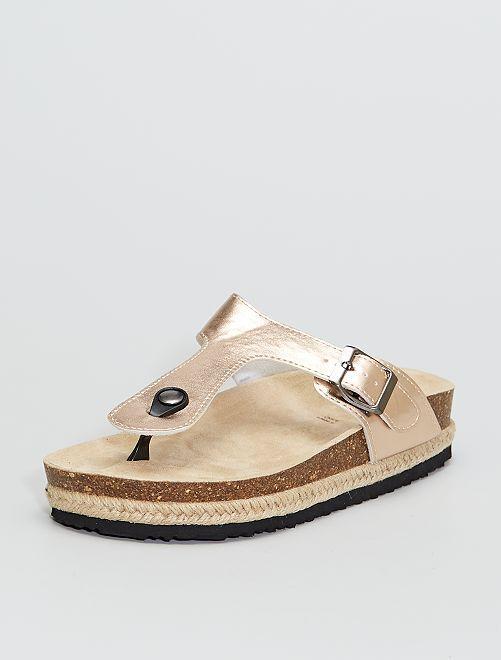 Sandali bassi vernice                             ROSA