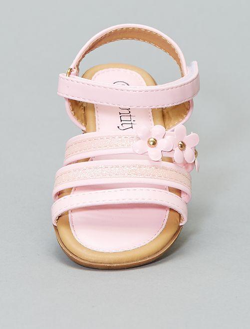 Sandali con paillette                             ROSA Infanzia bambina