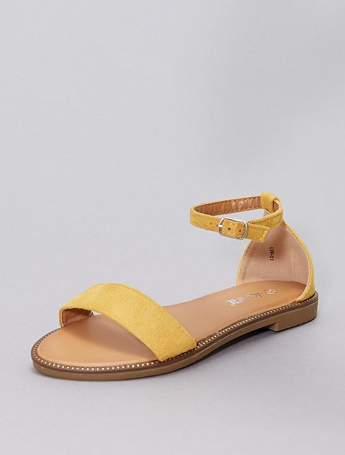 Sandali con strass                                                                             giallo