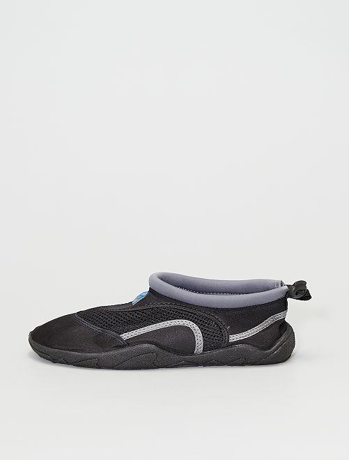 Sandali da bagno in neoprene                                         grigio