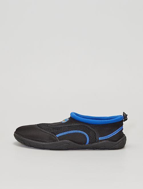 Sandali da bagno in neoprene                                         nero