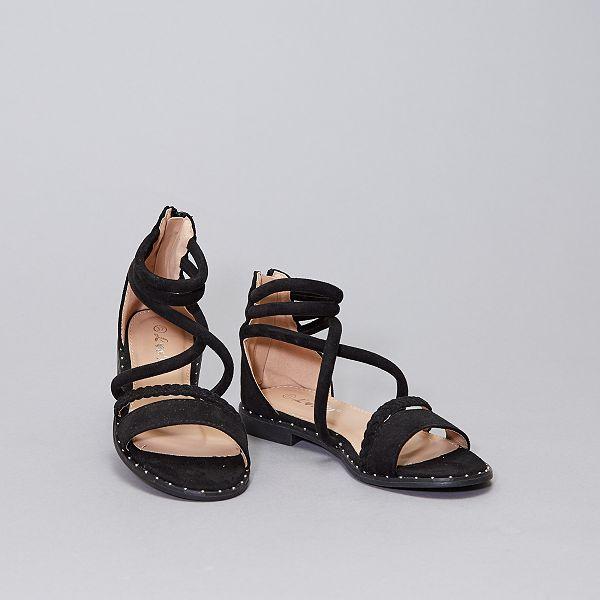 Sandali alla schiava Scarpe BEIGE Kiabi 18,00€