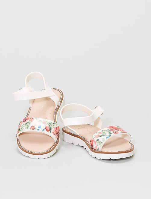 Sandali in plastica                             bianco