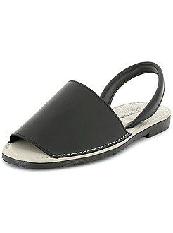 Scarpe - Sandali mallorquinas pelle