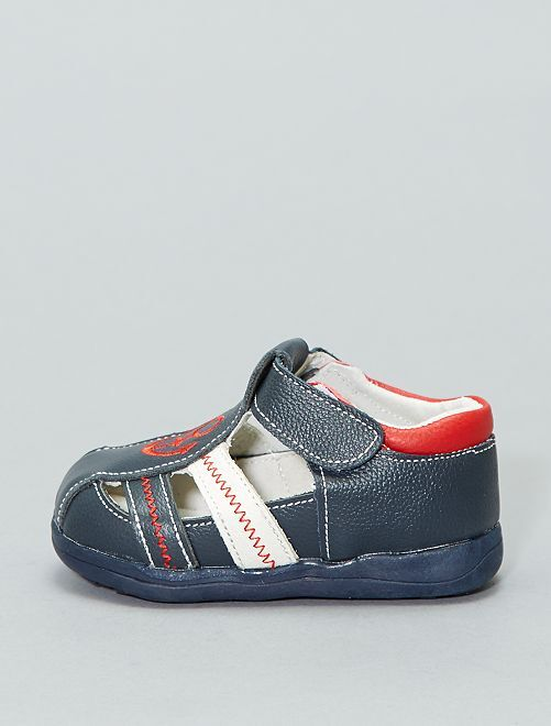 Sandali pelle                             blu navy Infanzia bambino