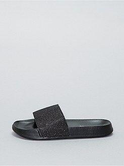 Sandali piatti luccicanti - Kiabi
