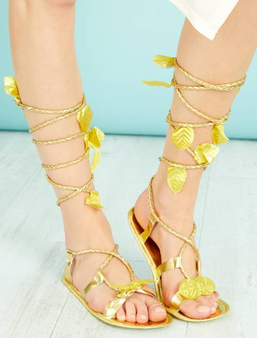 Sandali romana                             dorato Accessori