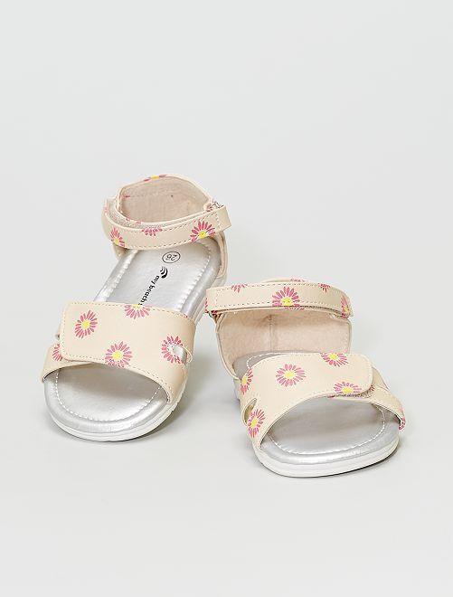 Sandali stampati                             BEIGE