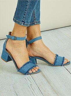 Sandali stile denim - Kiabi