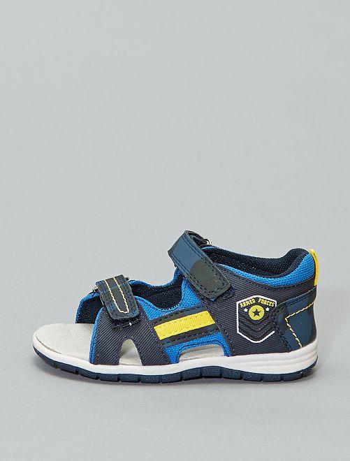 Sandali stile sportivo                             BLU Infanzia bambino
