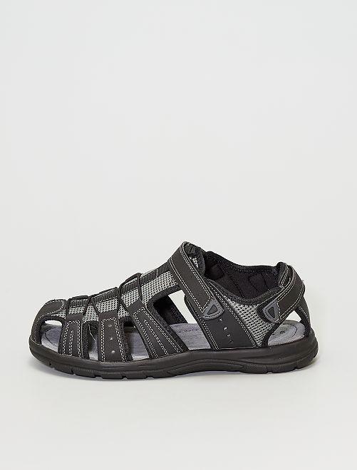 Sandali stile sportivo                             nero