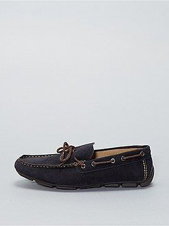 Scarpe - Scarpe da barca pelle scamosciata - Kiabi