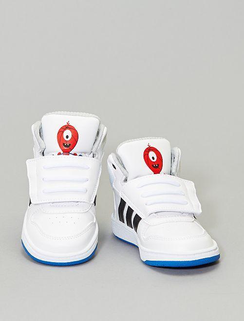 Scarpe da ginnastica alte 'Adidas'                                                     BIANCO