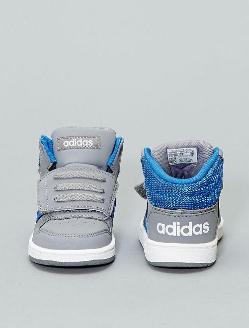 ... Scarpe da ginnastica alte ecopelle  HOOPS MID 2 0   Adidas  vista 4 ... 2b41002e591