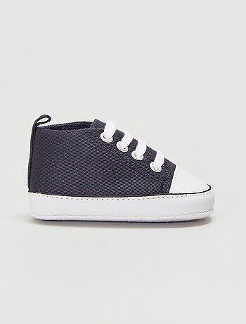 bb769abf8c717c Bambino 0-36 mesi - Scarpe da ginnastica alte tela - Kiabi