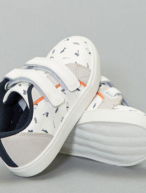 Scarpe da ginnastica basse a strappo                              bianco