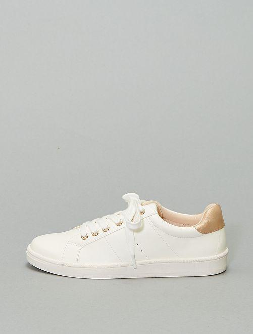Scarpe da ginnastica basse                             bianco
