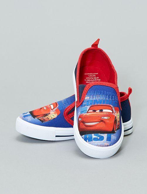 Scarpe da ginnastica basse Cars 'Disney/Pixar'                             blu/rosso Scarpe