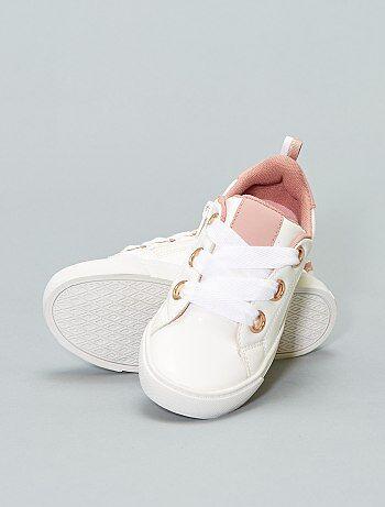 Scarpe - Scarpe da ginnastica basse ecopelle - Kiabi