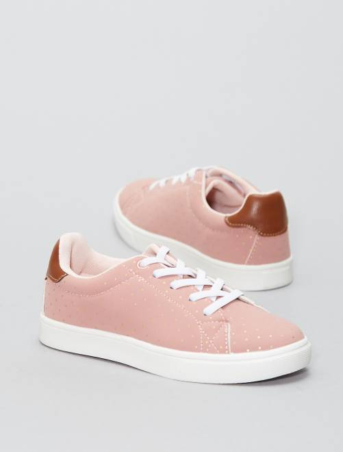 Scarpe da ginnastica basse ecopelle                             rosa Infanzia bambina