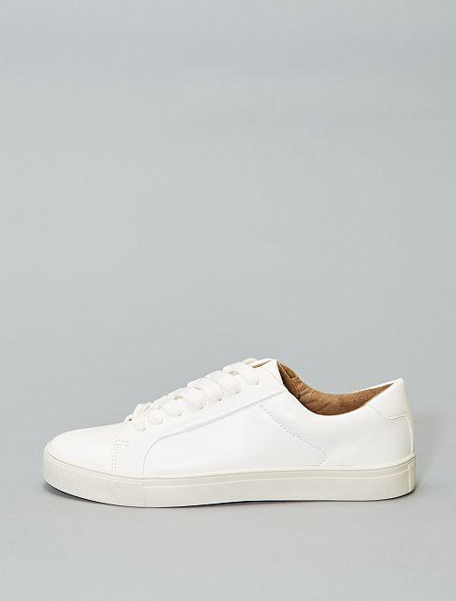 Scarpe da ginnastica bianche lacci                             bianco Scarpe