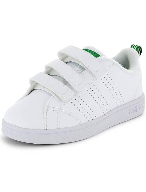 Scarpe da ginnastica chiusura a strappo 'Adidas VS Advantage Clean'                                         bianco Infanzia bambino