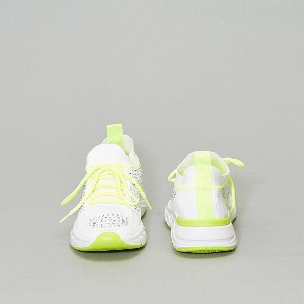 Scarpe da ginnastica con strass Donna bianco Kiabi 25,00€
