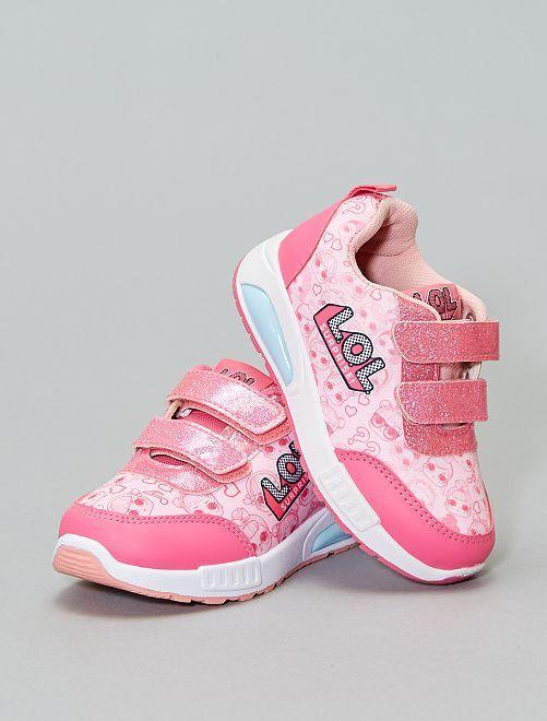 Scarpe da ginnastica luminose LOL                             rosa Scarpe