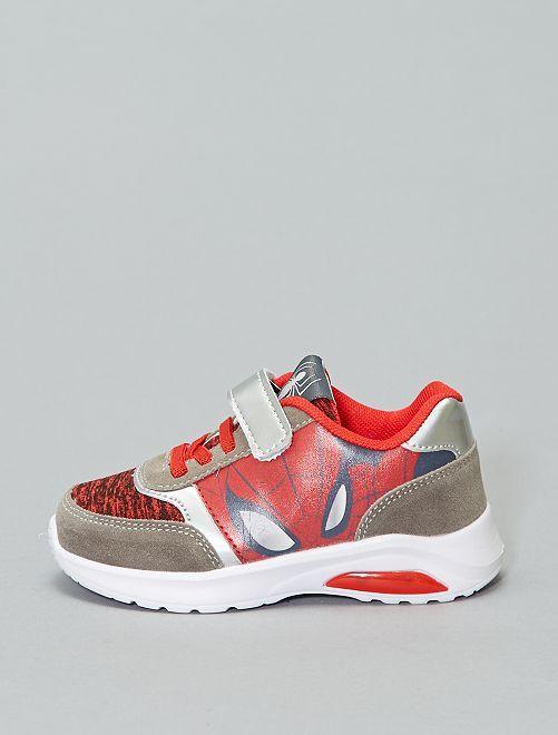 Scarpe da ginnastica 'Spiderman'                             rosso/grigio Scarpe