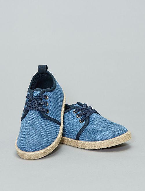 Scarpe da ginnastica tela tessuta                                         blu Infanzia bambino