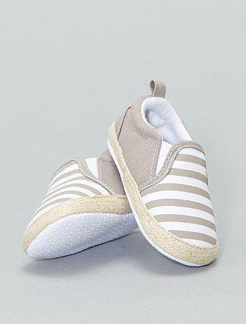 Bambino 0-36 mesi - Scarpe stile espadrilles cotone - Kiabi 30f05a32855