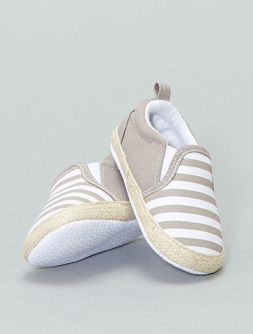 Scarpe stile espadrilles cotone                                         talpa Scarpe