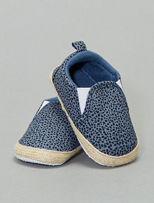 Scarpe stile 'slip-on'                                         blu