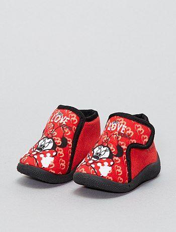 Scarpette alte a strappo 'Minnie' 'Disney' - Kiabi