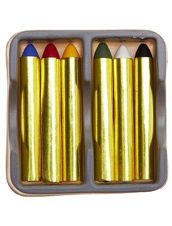 Accessori - Scatola 6 matite grasse - Kiabi