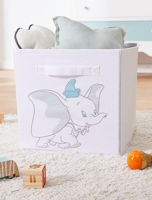 Scatola portaoggetti 'Dumbo'                             BIANCO