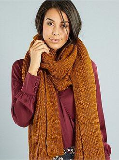 Sciarpe, guanti, berretti - Sciarpa lunga maglia grossa