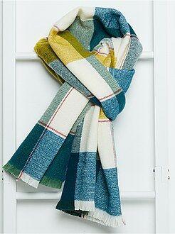 Sciarpe, guanti, berretti - Sciarpa maglia morbida a righe - Kiabi