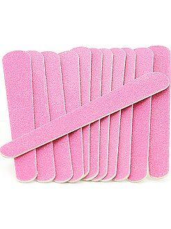 Accessori di bellezza - Set 12 piccole lime per unghie - Kiabi