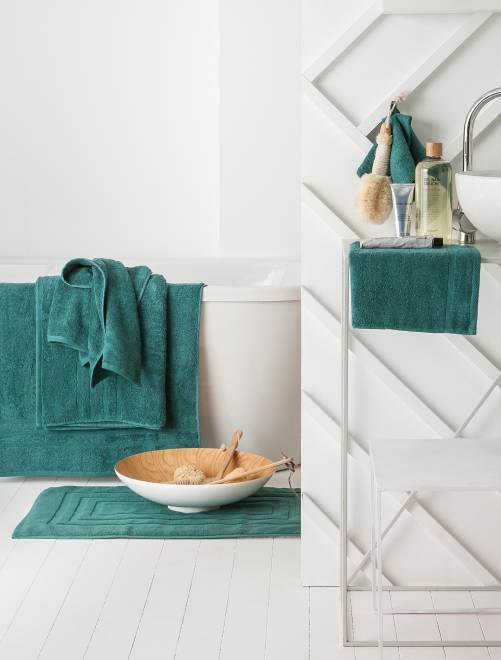 Set 2 asciugamani 30 x 50 cm                                                                                                                                                                                                      Casa