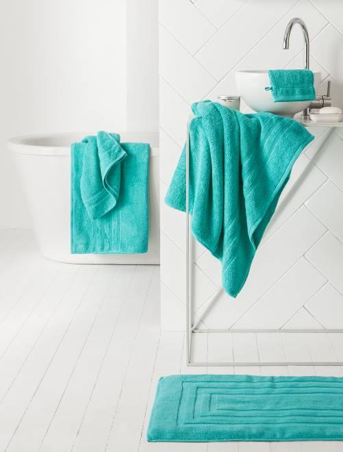 Set 2 asciugamani 30 x 50 cm                                                                                                                                                                                                                 BLU Casa