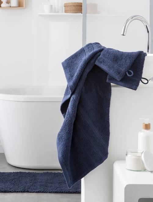 Set 2 asciugamani 30 x 50 cm                                                                                                                                                                                                                 blu marine Casa